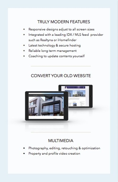 Real Estate Website Design 3
