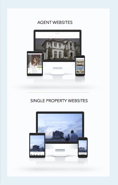 Real Estate Website Design 2