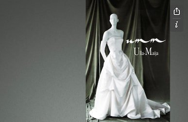 Design of Ulla-Maija Couture Booklet 1998
