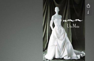 Design of Ulla-Maija Couture Booklet 1998