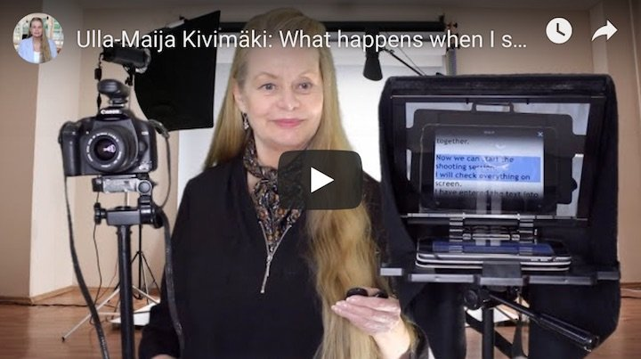 Ulla-Maija Kivimaki Video by Amalam Media
