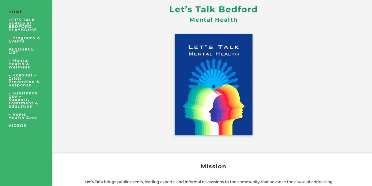 Let's Talk Bedford Website by Amalam Media
