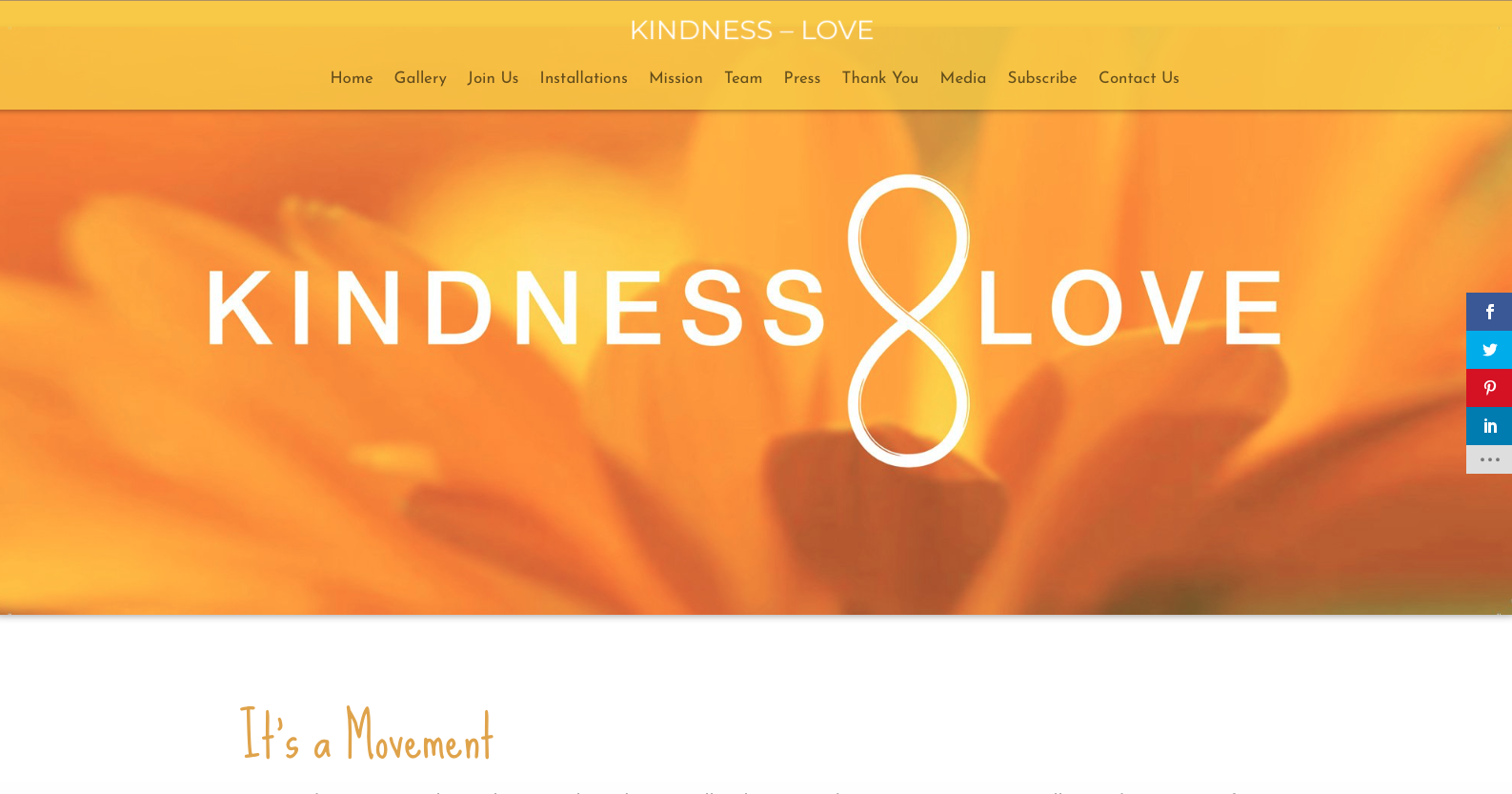 Kindness+Love Website 2020 by Amalam Media