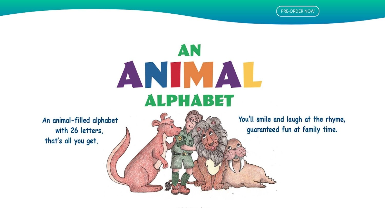 An Animal Alphabet Book Website by Amalam Media